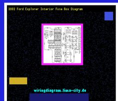 2002 ford explorer interior fuse box diagram. Wiring Diagram 18228. - Amazing Wiring Diagram Collection