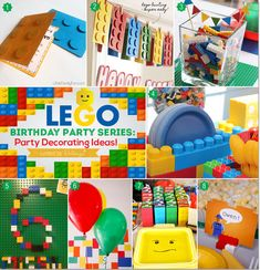 Lego Birthday Party Series: Party Decorating Ideas!