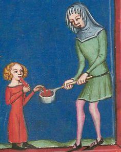 Rudolf / Jansen Enikel, Jans: Weltchronik in Versen - Mischhandschrift aus Christ-herre-Chronik um 1370 Cgm 5  Folio 69r