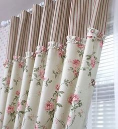 Stunning modern curtain designs to renovate your living room 42 Created to Measure curtains will set Modern Curtains, Country Curtains, Curtains With Blinds, Kitchen Curtains, Curtain Fabric, Drapes Curtains, Bedroom Curtains, Valances, Drapery