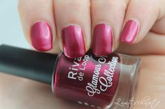 Rival de Loop Glamour Nail Collection 01 burgundy red
