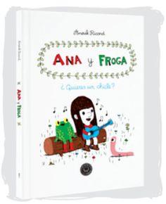 Ana y Froga: ¿quieres un chicle?, reseña elaborada por David Gómez