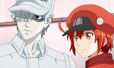 Cells at Work anime was one of the best amazing hits in 2018 an early a year ago, the series was affirmed to have a second season in progress yet word Cute Anime Pics, I Love Anime, Me Me Me Anime, Toyama, Pokemon Luna, Work Icon, 07 Ghost, Good Anime Series, Manga Story