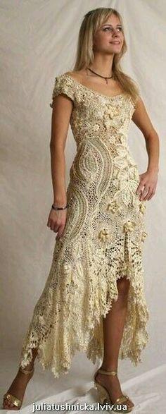 Hermoso vestido de largo