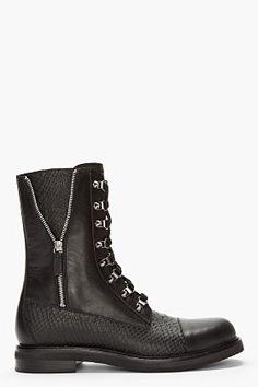 huge discount 1d159 11aa7 Designer biker   combat boots for Men