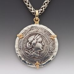 Come across fantastically designed hand crafted black accessories that's incredibly unique. Coin Jewelry, Beaded Jewelry, Silver Jewelry, Jewlery, Ancient Jewelry, Antique Jewelry, Vintage Jewelry, Antique Coins, Unusual Jewelry