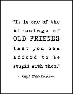 Ralph Waldo Emerson friendship quote minimalist typography print gift for bridesmaids friends encouragement best friend BFF birthday present...