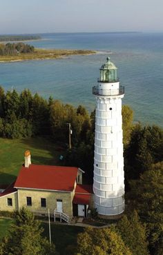 Door County, Wisonsin lighthouse | Read full travel feature in Gold Coast Magazine  http://www.FortLauderdaleDaily.com #lighthouse