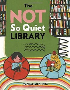 "9.14.2016. The Not So Quiet Library by Zachariah OHora (July 2016). Perhaps I am biased since I work in a library, but this book is hilarious, from the grumpy ""picked-onion"" librarian (at circulation?) to the many-headed monster mistaking the library for a restaurant. I'll can't wait to add it to storytimes on Libraries, Reading, Monsters, Donuts, or a combo-themed program of all of the above."