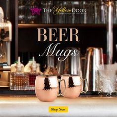 After a long hard day it's time you pulled out the Beer Mugs to help you relax and unwind!!