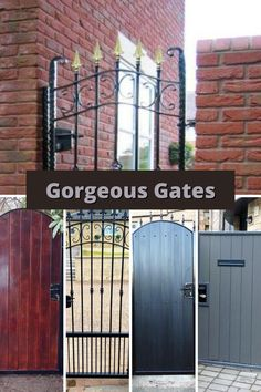 Our gates come in all shapes and designs to fit even the slimmest space. 📞: 01294 835294 📱: 07799 895814 📧: info@abbeygates.co.uk ℹ️: www.abbey-gates.co.uk #abbeygates #metalwork #blacksmith #security #stylish #glasgow #scotland #gardengate Metal Driveway Gates, Garden Gates And Fencing, Timber Gates, Metal Gates, Wooden Gates, Iron Gates, Gates And Railings, Metal Railings, Stair Railing