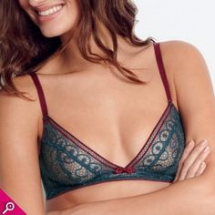 soutien-gorge triangle sans armatures Fille unique Midnight de Huit 8 Soft  Bra 56f5f0d58ff
