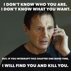 If you hate being interrupted while reading, you'll be able to relate to this hilarious meme!