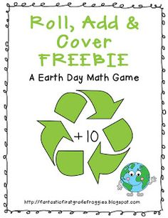 Earth Day Roll and cover freebie