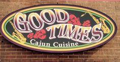 Good Times Cajun Cuisine  Cajun Food, Seafood, Home Cooking  20% Off | Good Times Cajun Cuisine | #Lewisville  #coupons #deals #Flowermound Restaurant Deals, Local Deals, Cajun Recipes, Check It Out, Good Times, Coupons, Restaurants, Neon Signs, Ads