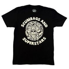 """""""SxS 3 Eyed Kong"""" T-Shirt Available online! Order your today!  https://shop.scumbagsandsuperstars.com/collections/black-white-tshirts/products/3-eyed-kong-mad-ball-sxs-t-shirt"""