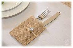 Resultado de imagen para camino de mesa con arpillera