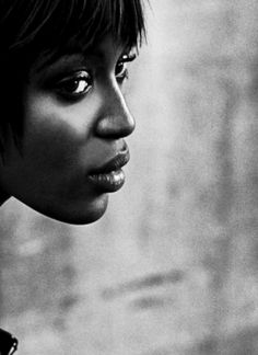 Naomi Campbell by Peter Lindbergh for Vogue Italia 2000