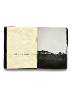 Like the journalling idea on the LHS Photo Book, Book Journal, Journals, Arte Sketchbook, Visual Diary, Book Layout, Sketchbook Inspiration, Handmade Books, Book Making