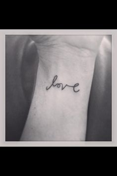Love cannot be erased, it cannot be broken...it's inscribed on a wrist heart that will remain forever :)   Wrist tattoo, Wrist Tattoos, Couples Wrist, Tattoo, Love Tattoo