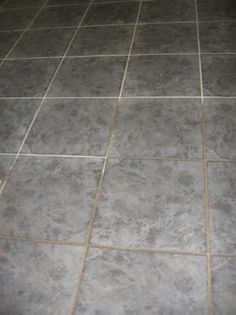 Grout Cleaner ½ cup baking soda cup household ammonia ¼ cup white vinegar 7 cups warm water - definitely trying this. My grout is begging me for it.