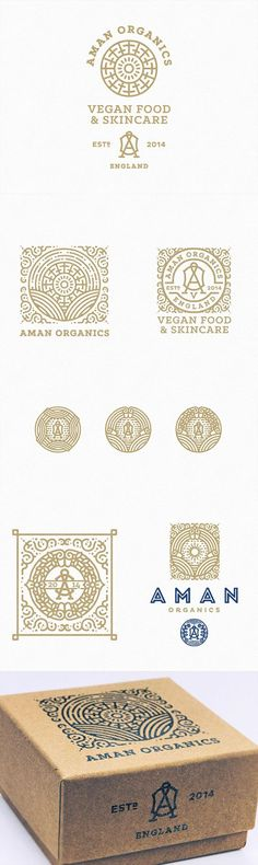 Beautiful and Very Details Logo Designs by Joe White | iBrandStudio