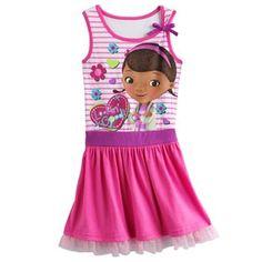 Disney Doc McStuffins Striped Dress - Girls 4-6x