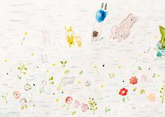 petit poulou Art And Illustration, Illustrations, Pattern Illustration, Pattern Art, Flower Art, Patches, Diagram, Photos, Japan