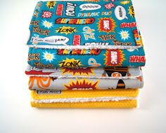A personal favorite from my Etsy shop https://www.etsy.com/listing/179664684/baby-boy-burp-cloths-set-of-3-baby-boy