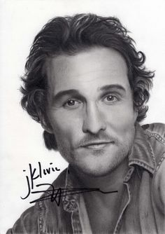 Pencil Portraits - Matthew McConaughey by williamleafe. on - Discover The Secrets Of Drawing Realistic Pencil Portraits.Let Me Show You How You Too Can Draw Realistic Pencil Portraits With My Truly Step-by-Step Guide. Drawing Techniques Pencil, Realistic Pencil Drawings, Colored Pencil Techniques, Pencil Art Drawings, Amazing Drawings, Cool Drawings, Horse Drawings, Drawing Art, Celebrity Drawings
