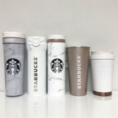 11 Modifications You Can Make to Customize Your Starbucks Order Starbucks Marble Tumblers Starbucks Tassen, Copo Starbucks, Starbucks Tumbler Cup, Starbucks Bottles, Personalized Starbucks Cup, Starbucks Drinks, Coffee Drinks, Iced Coffee, Starbucks Water Bottle