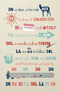 I absolutely love this poster. Would be especially great for a choir room!