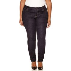 a.n.a Skinny Jeans-Plus ($30) ❤ liked on Polyvore featuring plus size women's fashion, plus size clothing, plus size jeans, plus size, plus size skinny jeans, denim skinny jeans, plus size super skinny jeans, womens plus size jeans and plus size skinny leg jeans