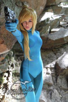 Zero Suit Samus cosplay by Ryuu Lavitz   #ZSS #Metroid #RyuuLavitz #cosplay