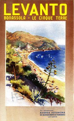 Dèpliant prodotto dall'Azienda autonoma di soggiorno e turismo di Levanto (1939)