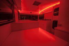 Darkroom under LED safelights