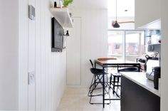 Before & After: An Industrial Kitchen Created with IKEA Cabinets | Apartment Therapy