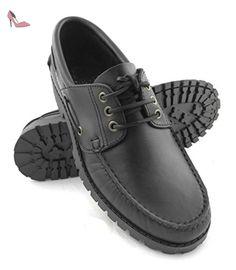 f1c34a9ed86a Zerimar Chaussures Bateau en Cuir pour Homme Chaussures pour homme   Amazon.fr  Chaussures et Sacs