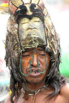Aztec Medicine Man . Mexico City