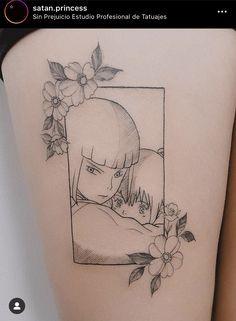 Anime Tattoos, Body Art Tattoos, New Tattoos, Small Tattoos, Sleeve Tattoos, Tatuaje Studio Ghibli, Studio Ghibli Tattoo, Tattoo Studio, Spirited Away Tattoo