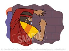 Peter goes out and weeps bitterly - Peter denies Jesus | Lamp Bible Pictures