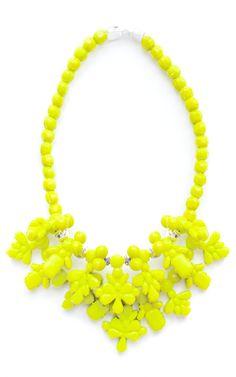 Ek Thongprasert x Natasha Goldenberg Neon Aziza Necklace on Moda Operandi
