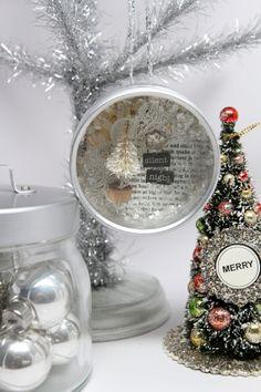 O Christmas tree - Christmas shadow box ornament