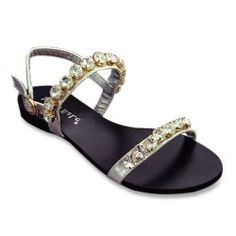Trendy Flat Heel and Rhinestones Design Women's Sandals from $21.89 by NASTYDRESS
