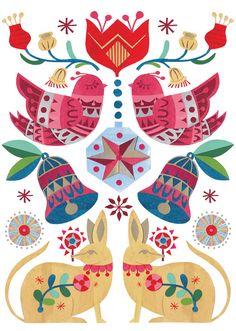 Image of Christmas Bilbies and Birds