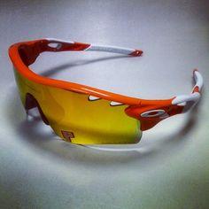 Oakley Radarlock Path sunglasses, perfect for Cincinnati Bengals fans!