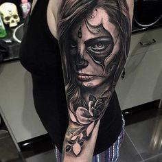 Fresh Tattoo Sleeve by @dylanwebertattoos