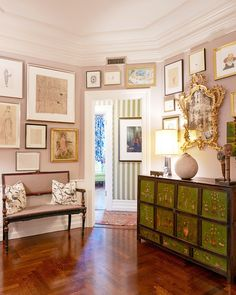 Tour Andy Spade's Sophisticated New York Apartment via @MyDomaine