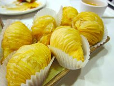 Durian pastries - my favorite dim sum item