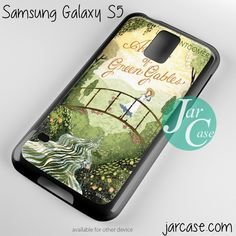 anne of green gables vintage Phone case for samsung galaxy S3/S4/S5